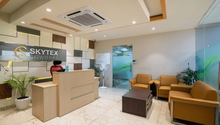 Skytex Coworks| Bookofficenow