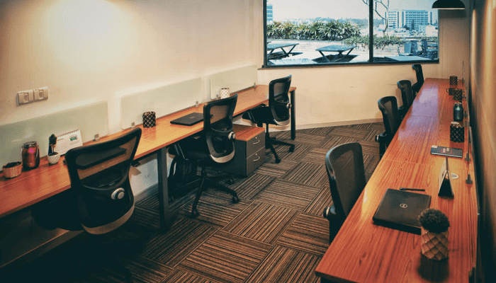 IndiQube - Lexington Towers| Bookofficenow