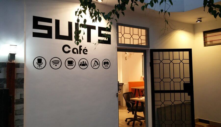 Suits cafe Workspaces| Bookofficenow